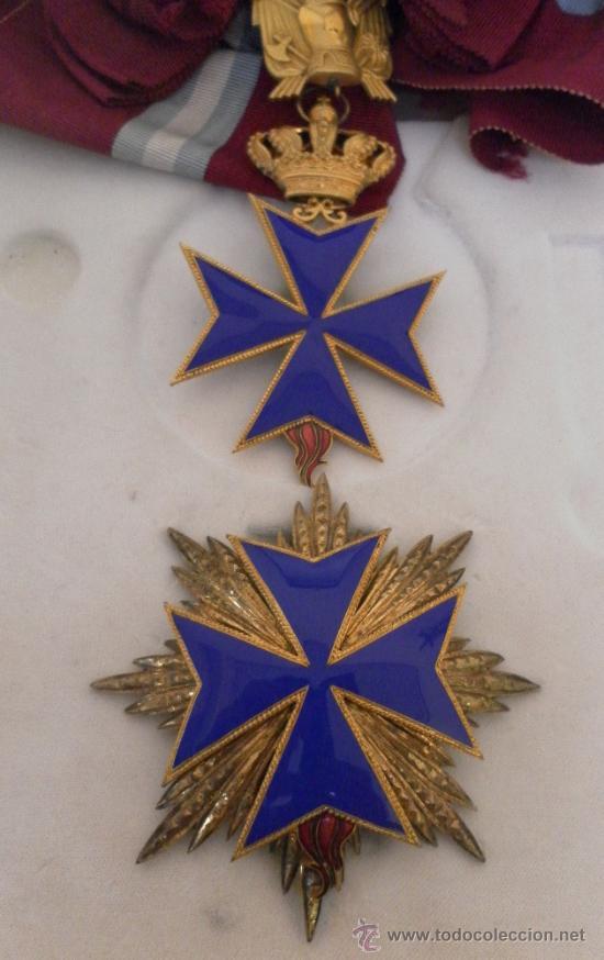 Militaria: Gran cruz de orden San Salvador y Santa Brígida de Suecia. - Foto 2 - 35465110