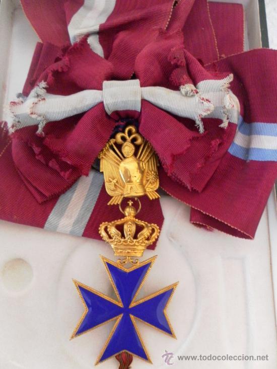 Militaria: Gran cruz de orden San Salvador y Santa Brígida de Suecia. - Foto 5 - 35465110