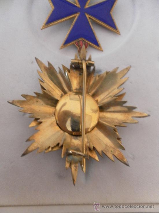 Militaria: Gran cruz de orden San Salvador y Santa Brígida de Suecia. - Foto 6 - 35465110