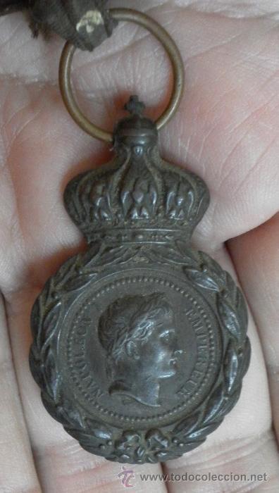 Militaria: Francia. Medalla Santa Helena - Foto 3 - 35472359