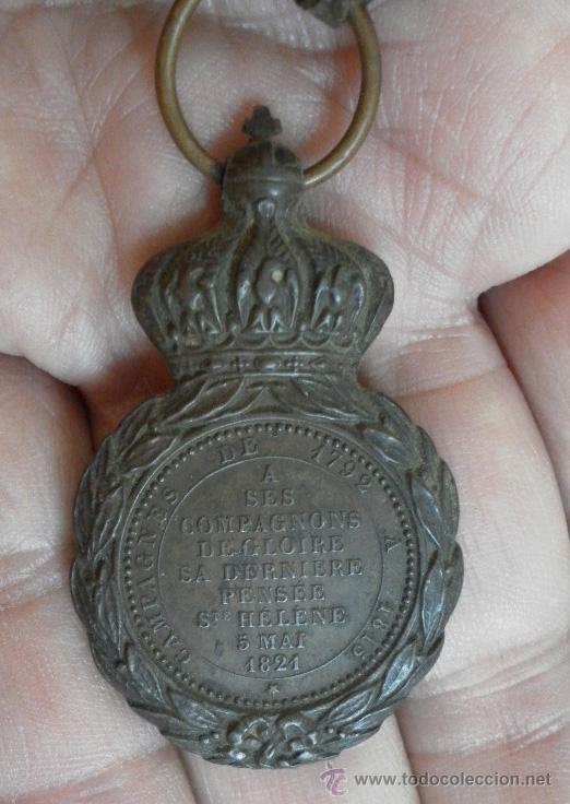 Militaria: Francia. Medalla Santa Helena - Foto 6 - 35472359