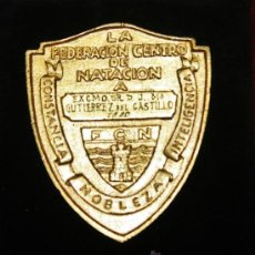 Militaria: FEDERACION CENTRO DE NATACION AL MERITO DEPORTIVO. Lote 35478837