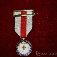 Militaria: MEDALLA DE PLATA DE LA CRUZ ROJA. Lote 36054767