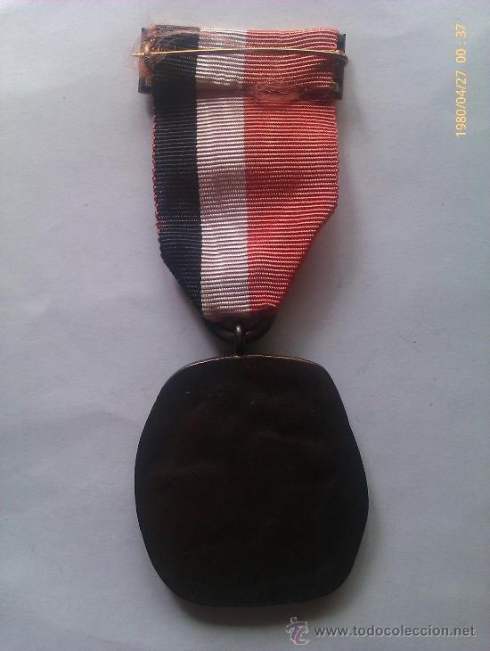Militaria: Medalla Instituto Nacional de Industria. España época de Franco. 1941-1975. Plus Ultra. INI. Bronce - Foto 2 - 36056862