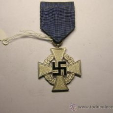 Militaria: MEDALLA DE PERMANENCIA EN LA WHERMATCH, 2ª GUERRA MUNDIAL. CATEGORIA PLATA.. Lote 36062719