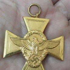 Militaria: ALEMANIA. CRUZ. CONSTANCIA EN LA POLICÍA. II GUERRA MUNDIAL. Lote 36375747