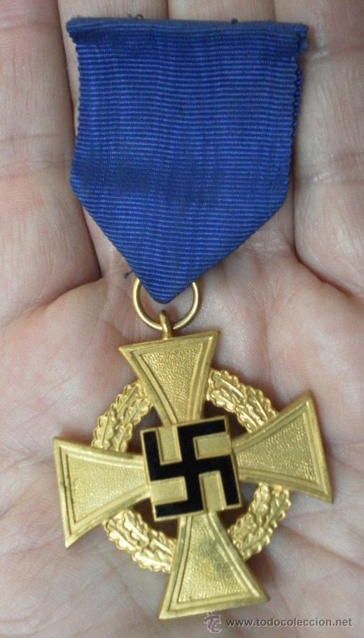 Militaria: Alemania. Medallas por años de servicio en el partido. II Guerra Mundial. - Foto 2 - 36375396