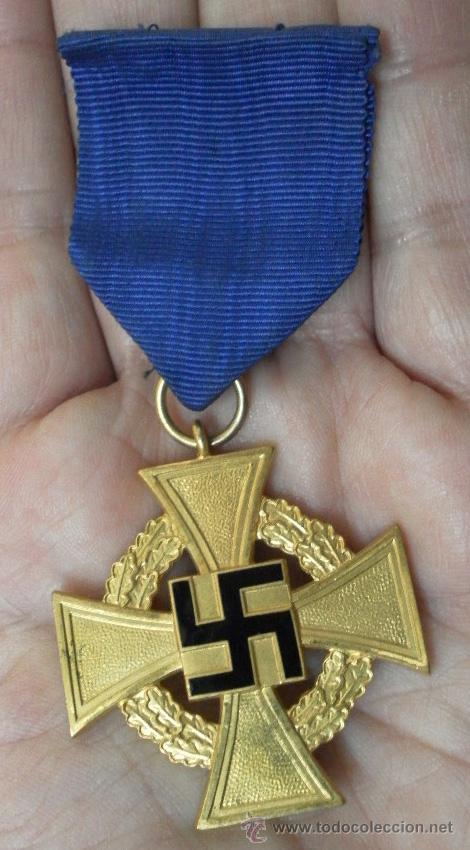 Militaria: Alemania. Medallas por años de servicio en el partido. II Guerra Mundial. - Foto 3 - 36375396