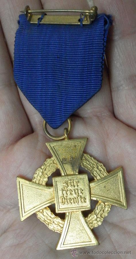 Militaria: Alemania. Medallas por años de servicio en el partido. II Guerra Mundial. - Foto 4 - 36375396