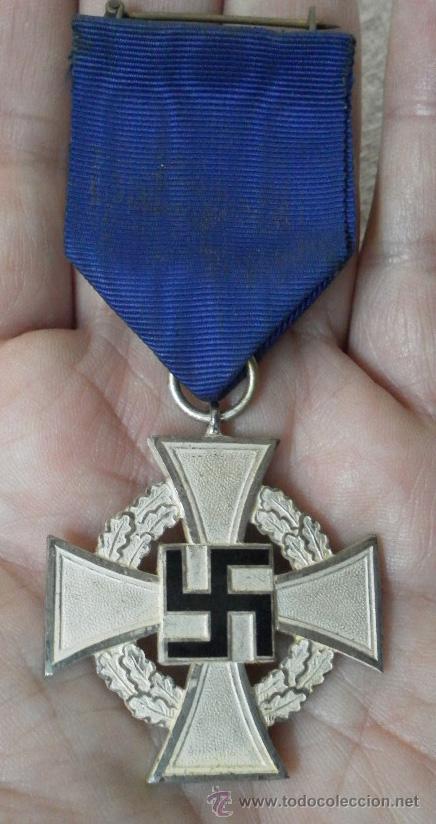 Militaria: Alemania. Medallas por años de servicio en el partido. II Guerra Mundial. - Foto 6 - 36375396