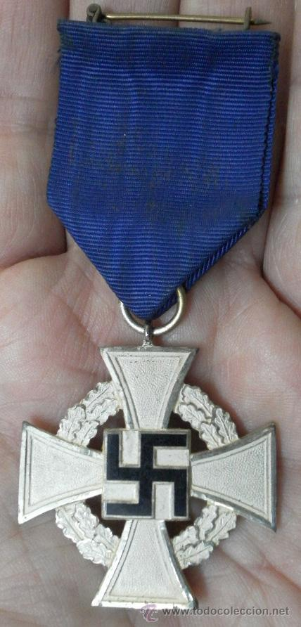 Militaria: Alemania. Medallas por años de servicio en el partido. II Guerra Mundial. - Foto 7 - 36375396