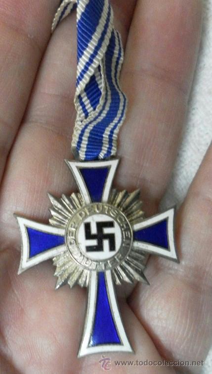 Militaria: Alemania. Cruz de la Madre. Con diploma de concesión y sobre. II Guerra Mundial - Foto 11 - 36481089