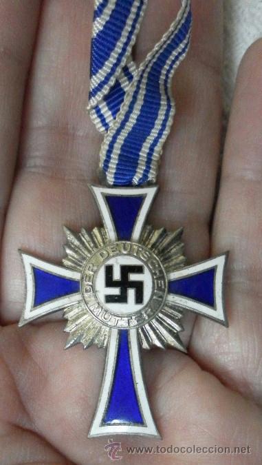 Militaria: Alemania. Cruz de la Madre. Con diploma de concesión y sobre. II Guerra Mundial - Foto 12 - 36481089