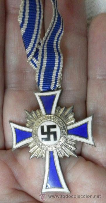 Militaria: Alemania. Cruz de la Madre. Con diploma de concesión y sobre. II Guerra Mundial - Foto 13 - 36481089