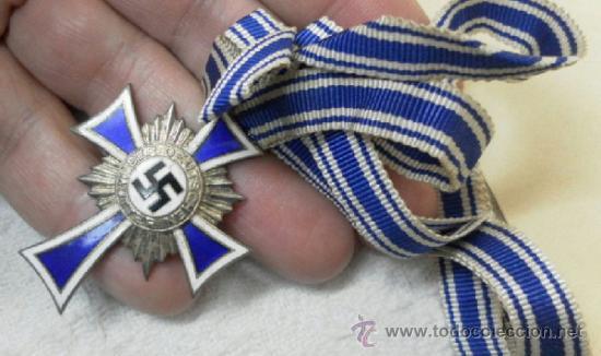 Militaria: Alemania. Cruz de la Madre. Con diploma de concesión y sobre. II Guerra Mundial - Foto 15 - 36481089
