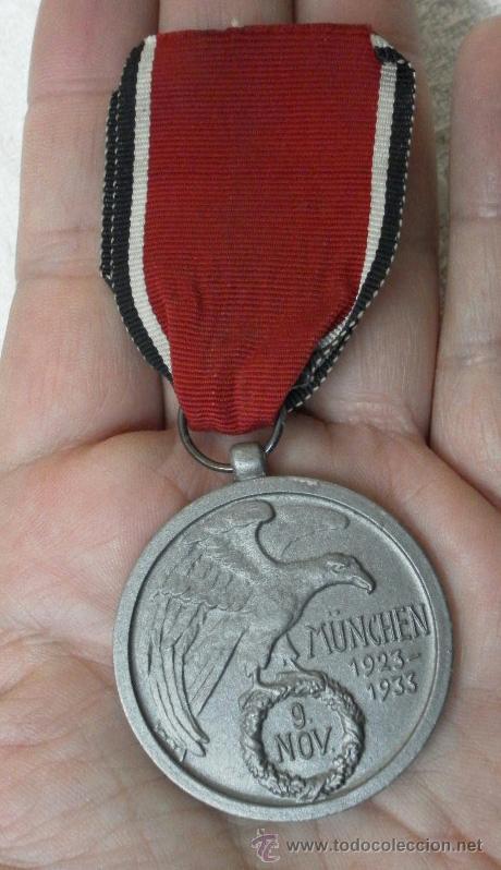 ALEMANIA. MEDALLA DE LA ORDEN DE LA SANGRE. II GUERRA MUNDIAL. BUENA REPRODUCCIÓN ANTIGUA (Militar - Reproducciones y Réplicas de Medallas )