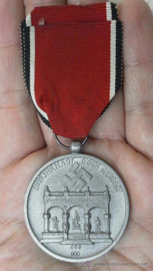 Militaria: Alemania. Medalla de la Orden de la Sangre. II Guerra Mundial. Buena reproducción antigua - Foto 3 - 36494801