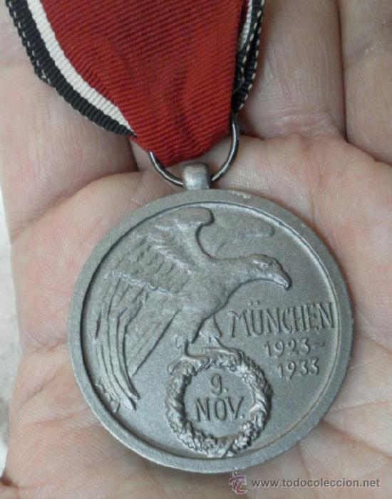 Militaria: Alemania. Medalla de la Orden de la Sangre. II Guerra Mundial. Buena reproducción antigua - Foto 5 - 36494801