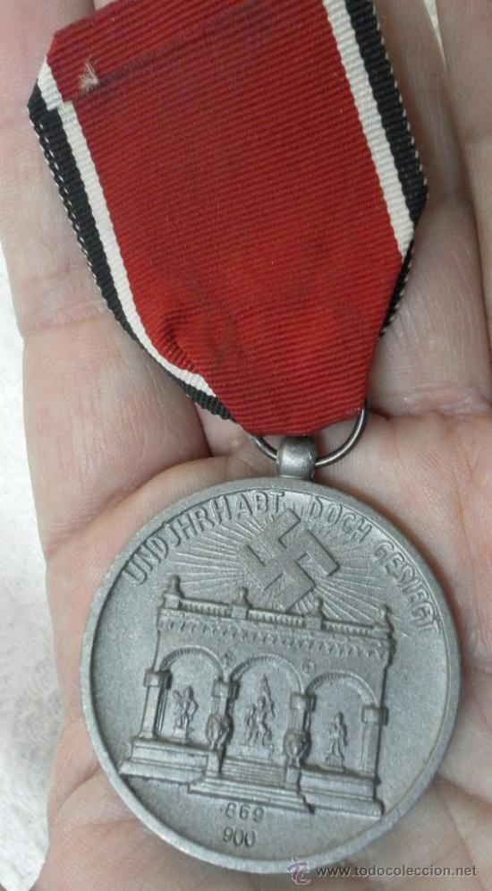 Militaria: Alemania. Medalla de la Orden de la Sangre. II Guerra Mundial. Buena reproducción antigua - Foto 6 - 36494801