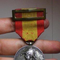 Militaria: MEDALLA SITIO DE ZARAGOZA 1808-1908, PALAFOX, PLATA. Lote 36666103