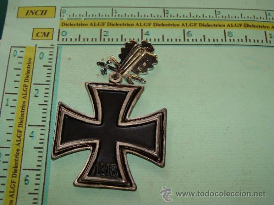Militaria: MEDALLA ALEMANIA III REICH. CRUZ DE CABALLERO CRUZ DE HIERRO. HOJAS DE ROBLE PLATA. 1813 1939 - Foto 2 - 166903366