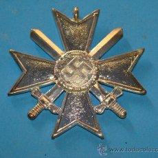Militaria: MEDALLA ALEMANIA III REICH. CRUZ DE MALTA VERSIÓN PLATA. ESVÁSTICA - 1939. CRUZ DE HONOR NS. . Lote 120209374