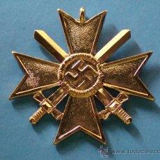 Militaria: MEDALLA ALEMANIA III REICH. CRUZ DE MALTA VERSIÓN ORO. ESVÁSTICA - 1939. CRUZ DE HONOR NS. . Lote 36945890