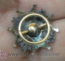 Militaria: Miniatura de solapa de chaqueta. Placa de San Hermenegildo. Época de Alfonso XIII - Foto 4 - 37112309