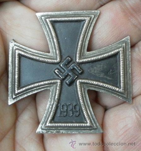 CRUZ DE HIERRO DE 1ª CLASE. 2ª GUERRA MUNDIAL. FABRICACIÓN ESPAÑOLA. (Militar - Medallas Internacionales Originales)