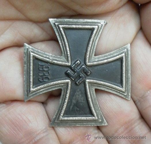 Militaria: Cruz de Hierro de 1ª Clase. 2ª Guerra Mundial. Fabricación Española. - Foto 2 - 37517652