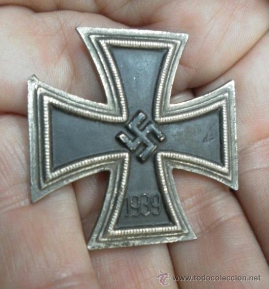 Militaria: Cruz de Hierro de 1ª Clase. 2ª Guerra Mundial. Fabricación Española. - Foto 3 - 37517652
