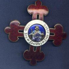 Militaria: PLACA DE GRAN CRUZ DE LA ORDEN DE ALFONSO X EL SABIO. ÉPOCA DE FRANCO.. Lote 37531463