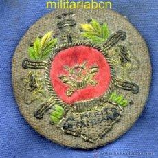 Militaria: MEDALLA MILITAR COLECTIVA PARA UN REGIMIENTO DE INFANTERÍA. GUERRA CIVIL. BORDADA. ORIGINAL. Lote 37562850