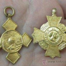 Militaria: DOS MEDALLAS ESCOLARES.. Lote 37724467