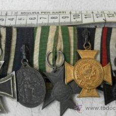 Militaria: ALEMANIA. PASADOR DE 5 CONDECORACIONES.. Lote 37726509