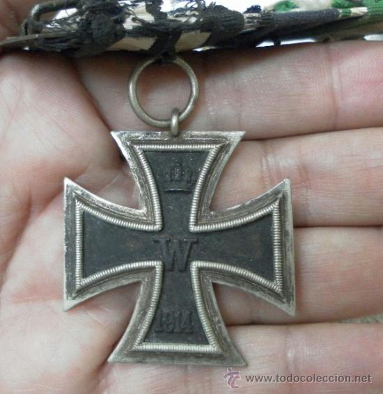 Militaria: Alemania. Pasador de 5 condecoraciones. - Foto 2 - 37726509