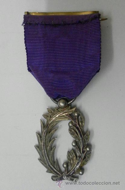 Militaria: Medalla francesa. Palmas académicas. - Foto 8 - 37806474