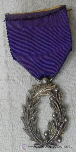 Militaria: Medalla francesa. Palmas académicas. - Foto 4 - 37806474