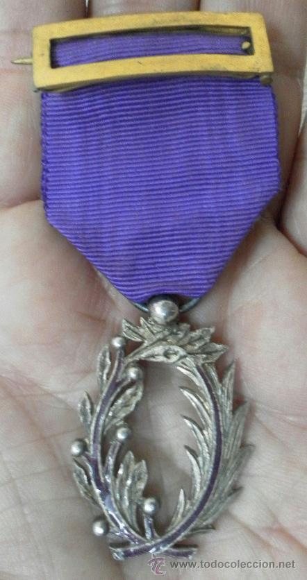 Militaria: Medalla francesa. Palmas académicas. - Foto 2 - 37806474