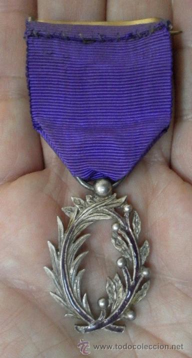 Militaria: Medalla francesa. Palmas académicas. - Foto 10 - 37806474