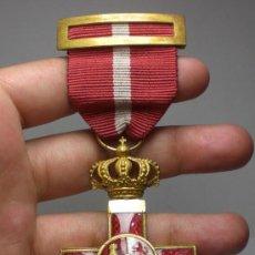 Militaria: CRUZ AL MERITO MILITAR. CON DISTINTIVO ROJO. ÉPOCA DE ALFONSO XIII (EXCELENTE CONSERVACIÓN). Lote 37994331