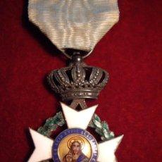 Militaria: GRECIA - ORDEN DEL REDENTOR - PLATA Y ORO CON ESMALTES - PRIMERA EPOCA - MUY RARA. Lote 37997154