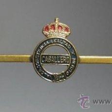 Militaria: INSIGNIA PISA-CORBATAS. CABALLERO. VALOR, CONSTANCIA, LEALTAD Y MERITO. Lote 38095139
