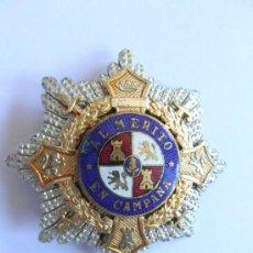 Militaria: PLACA DE LA CRUZ DE GUERRA PARA OFICIAL . GUERRA CIVIL. DIVISION AZUL.. Lote 77484629