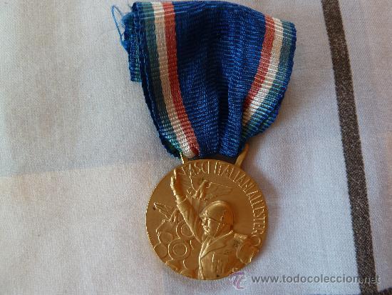 MEDALLA ITALIANA (Militar - Medallas Extranjeras Originales)