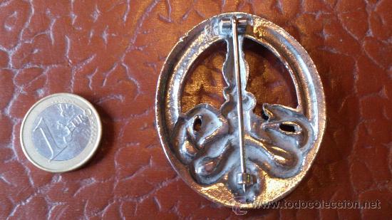 Militaria: Insignia - Anti Partisana - Calavera espada y serpientes - Foto 2 - 38577072