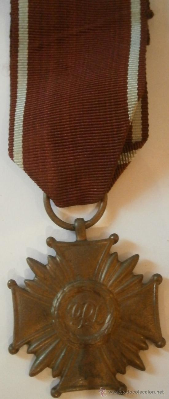 MEDALLA MÉRITO CIVIL, 4ª CLASE, POLONIA (Militar - Medallas Extranjeras Originales)