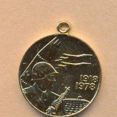 Militaria: MON 858 MEDALLA DE RUSIA 1918 - 1978 REALIZADA EN METAL DORADO MEDIDAS SOBRE 32 MM. Lote 38994756
