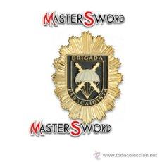 Militaria: PLACA BRIGADA PARACAIDISTA MOD. ESPAÑOLA INSIGNIA BROCHE. 6 CMS ** REPLICA DE GRAN CALIDAD. Lote 173954593