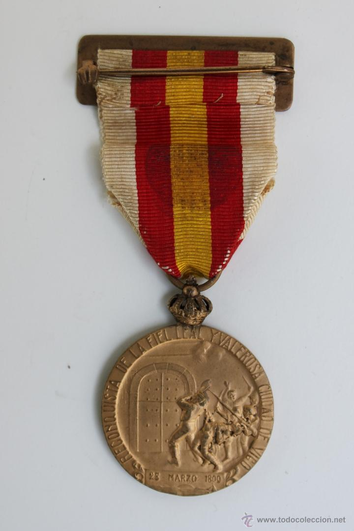 Militaria: MEDALLA CENTENARIO DE VIGO 1809 - 1909 - Foto 3 - 39447931